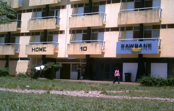 Une agence bancaire à L'université de Lubumbashi