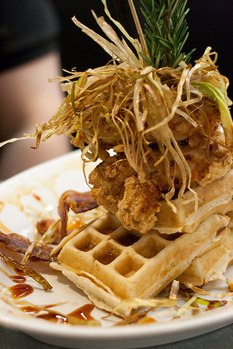 Hash House a Go-Go chicken and waffles