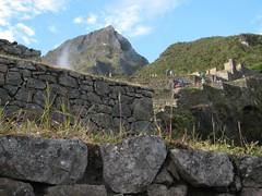 machu picchu mountain above machupicchu