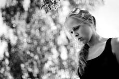 Maria (Johan Gustavsson) Tags: portrait blackandwhite bw woman girl female göteborg sister maria gothenburg svartvit porträtt svartvitt