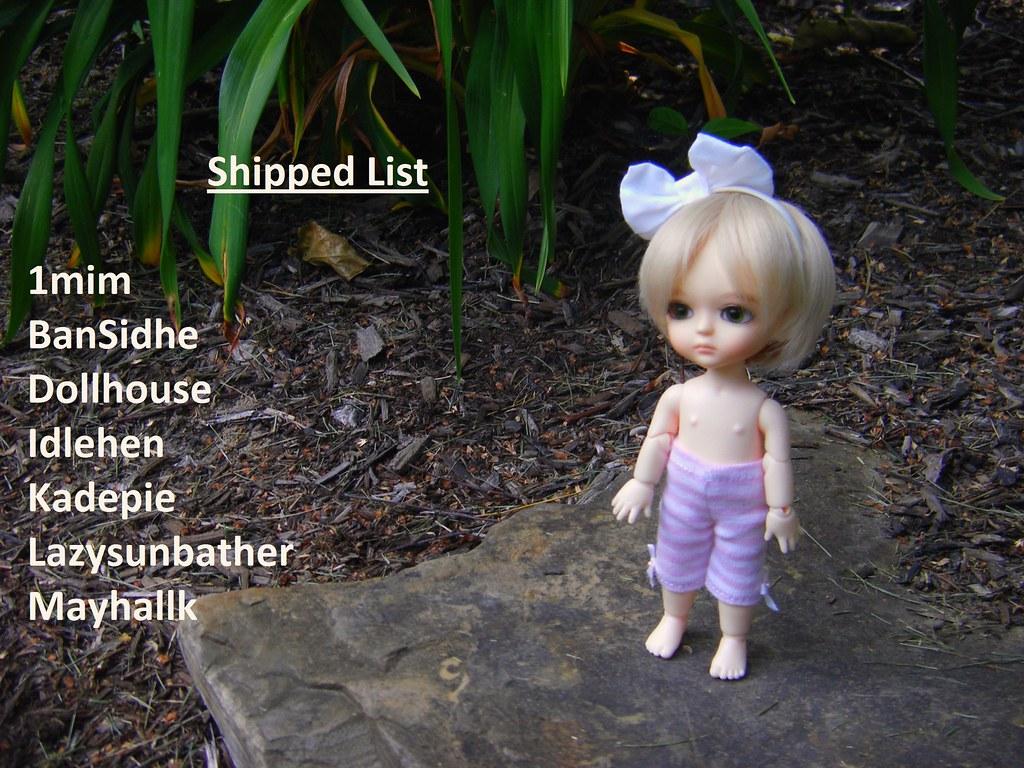 Shipped List