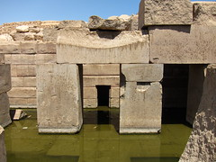 Temple of Seti.128 (Osireion) (WilliamSitu) Tags: egypt abydos templeofseti