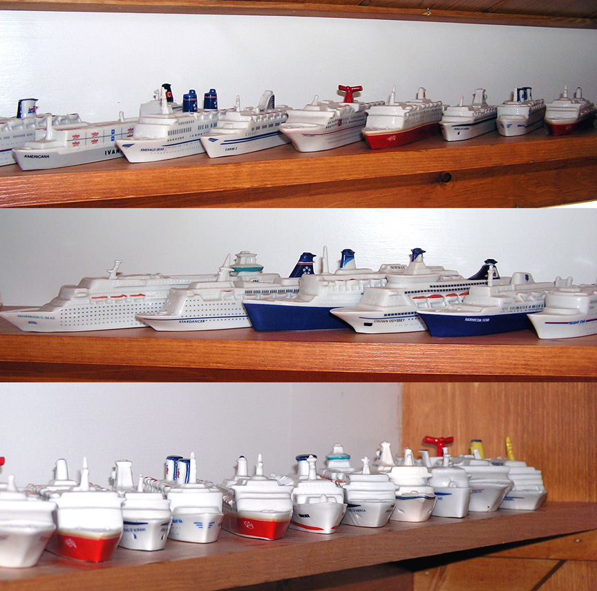 carnival cruise line ship models