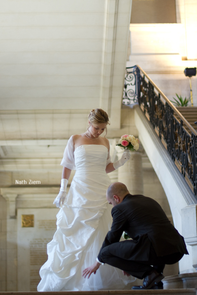 mariage marie aude Gregory
