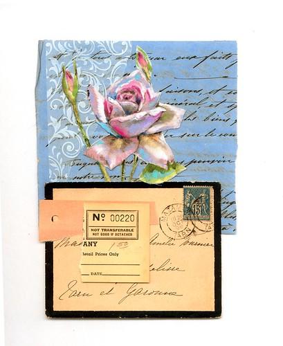 Letter Rose Print