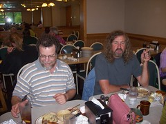 "me & ""Curly"" (dannymac54) Tags: family dinner curly"