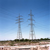 (Andrés Medina) Tags: 6x6 film landscape industrial deserted electrictowers pro160s zenzanon80mm andresmedina bonicaectl gettyimagesspainq1
