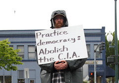 Practice democracy: Abolish the C.I.A.
