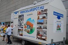 Solarspot bemutató autó