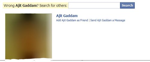 Facebook search engine privacy