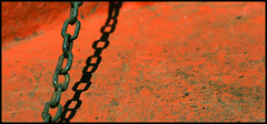 8 1 0 (flickrohit) Tags: shadow orange abstract 1 boat 8 chain rohit rohitgowaikar