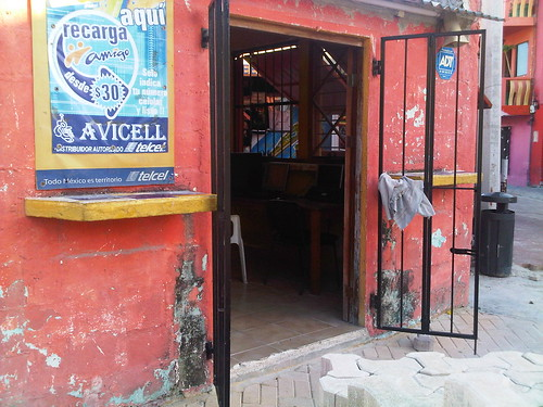 Internet Cafe in Isla Mujeres