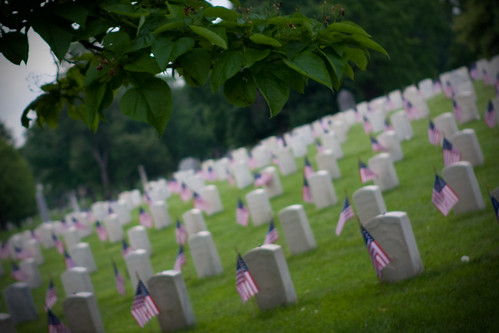 Crown Hill Cemetery-Memorial Day 2010