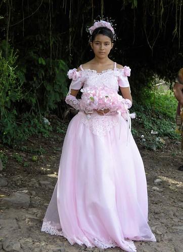 Fiesta de 15 años - 15 year old party; Dolores, Cabañas, El Salvador