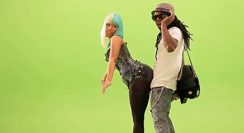 Behind The Scenes Lil Wayne Ft. Nicki Minaj- Knockout