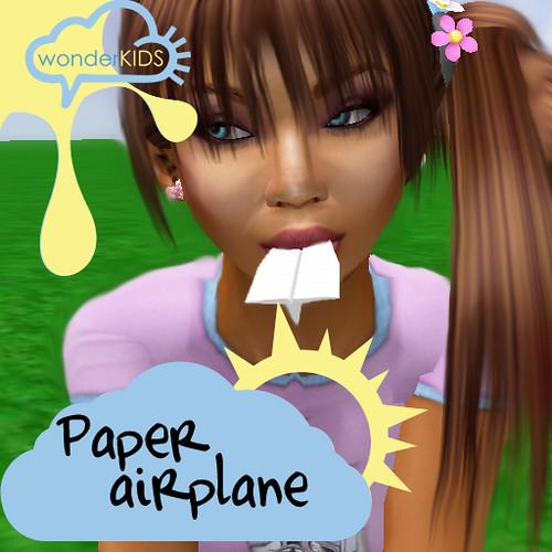 <(wonderkids)! paper airplanes [wear]