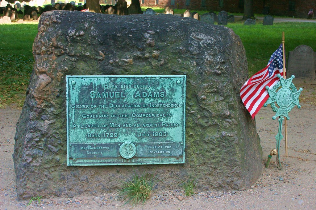 Samuel Adams' Gravesite