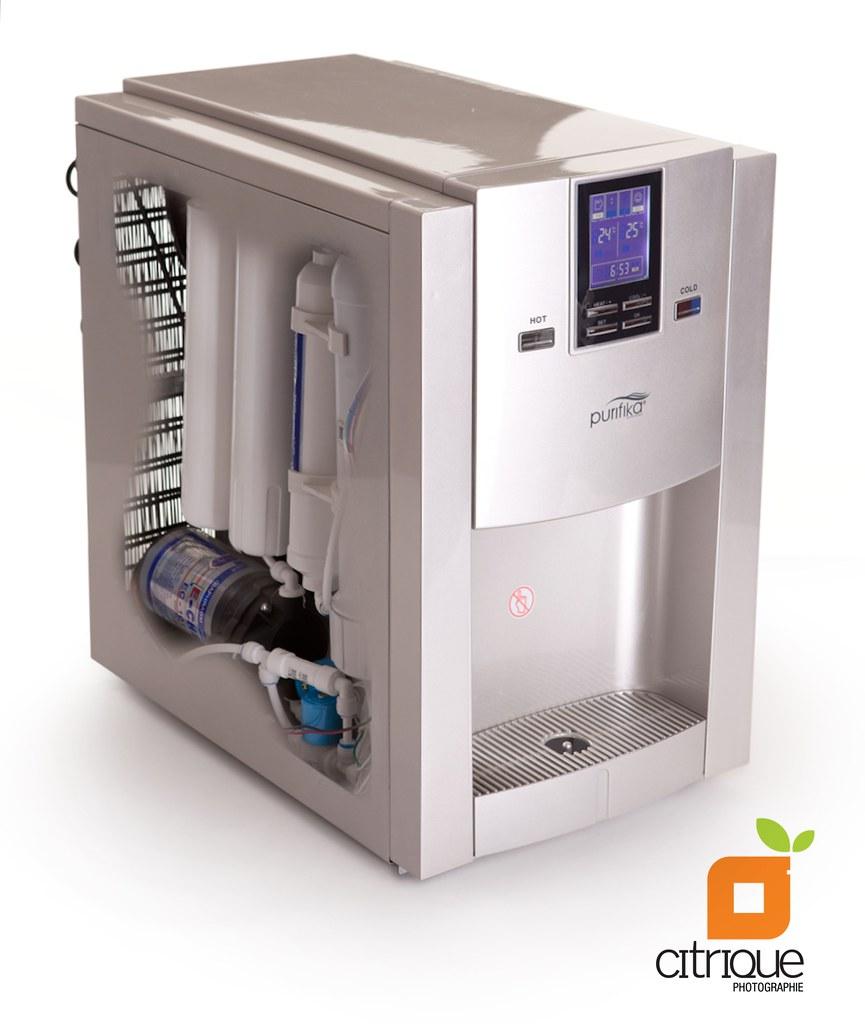 Desktop Water Purifier (x-ray view)