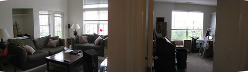 Living Room and Spare Room