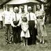 Jack, John, Woodrow, Fred, Doris Walls & Pam - June 1954