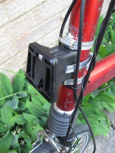 Sac avant de marque Brompton sur un autre vélo pliabe (Dahon, Birdy,...) - Page 2 4677598159_f144902822