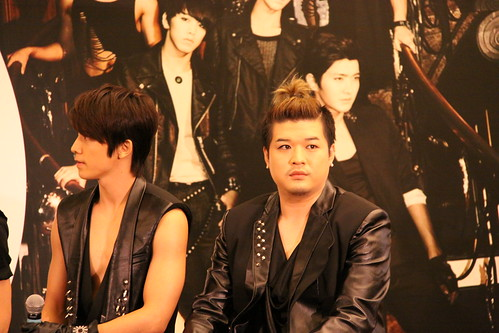 Shindong (Right) (Photo credit: Lester Chan)