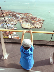 little boy view (cyberchrome) Tags: panorama seascape photoshop hampshire portsmouth spinnakertower gunwharfquays panasonicdmctz3