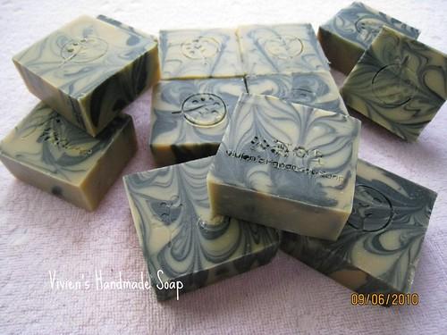 清涼竹炭乳皂_小草莓