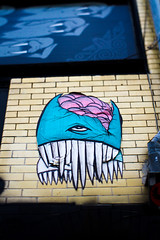 yom nom (bhautik joshi) Tags: sanfrancisco california summer streetart lowerhaight 2010 selectivefocus upperplayground fillmorest plungercam selectivedepthoffield plungercammini art:neighborhood=lowerhaight art:category=wheatpaste