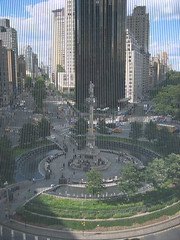 Columbus Circle from MAD Museum's Studio