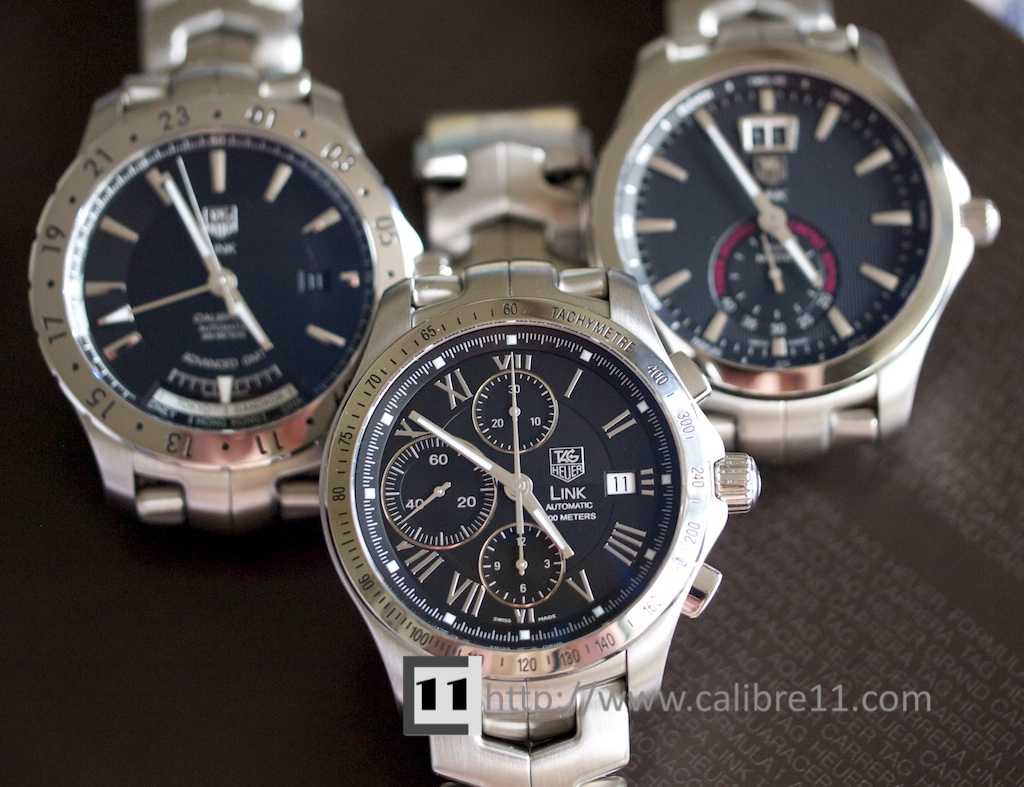 Yanho watches and jewellery: tag heuer link tiger woods limited.