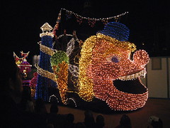 Pinocchio float in Disney's Electrical Parade. (04/17/2010)