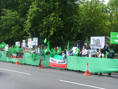 (4) (sabzphoto) Tags: uk people london iran britain crowd protest  iranelection