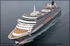 Queen Victoria (Aviation & Maritime) Tags: bergen cunard queenvictoria cruiseships arealview