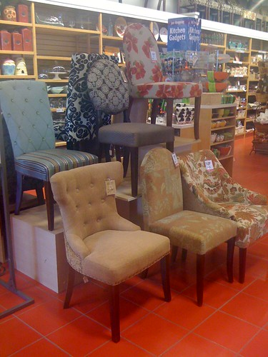 Dining chairs at Pier 1