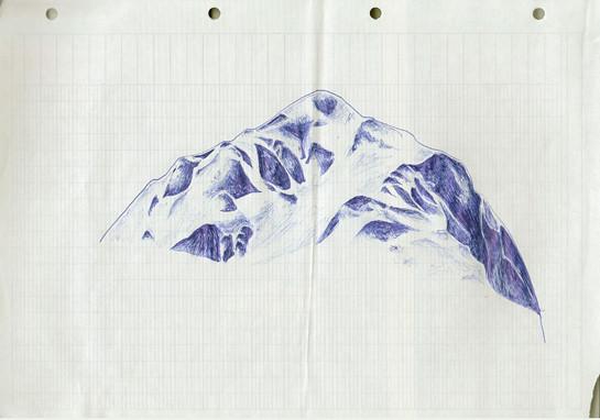 a big hill
