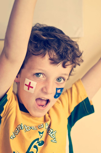 Come on England! And Australia!