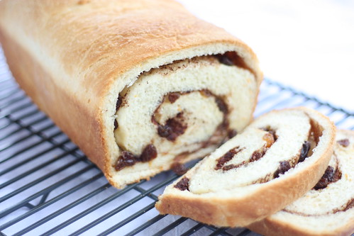 Raisin Swirl Bread for Tuesdays with Dorie