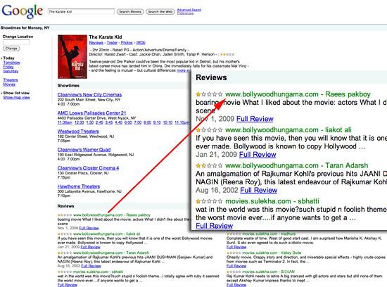 karate kid google reviews
