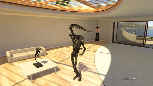 Xenomorph Glamour Shot - PlayStation®Home