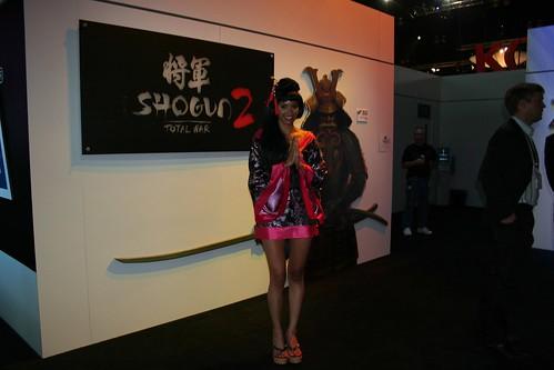 E3 2010 Booth Babe