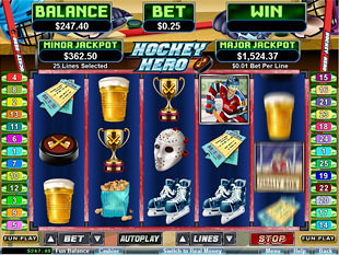 Hockey Hero slot game online review