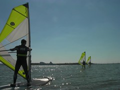 Stag Do Windsurfing Action