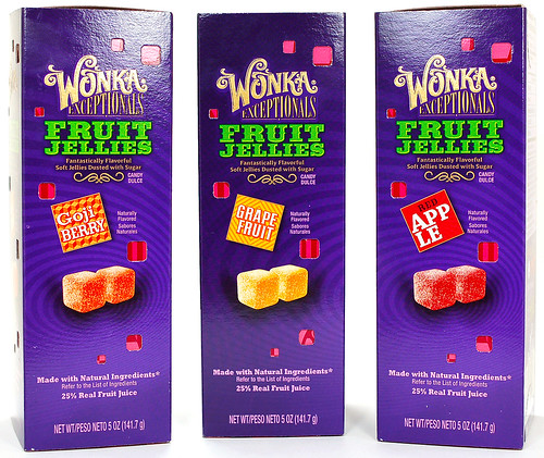 Wonka Exceptionals Fruit Jellies Box