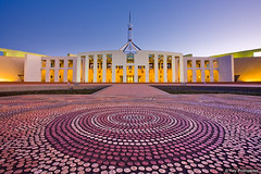 Parliament House, Canberra, Australia (-yury-) Tags: house australia parliament canberra act supershot