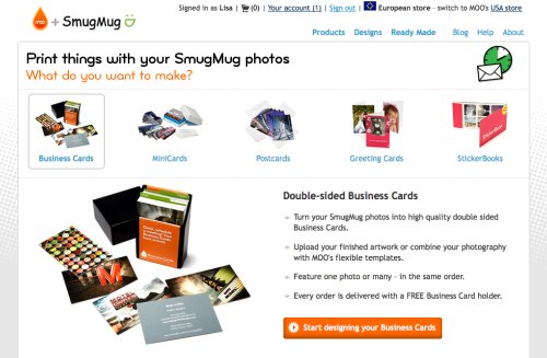 SmugMug and MOO | Print things with your SmugMug photos