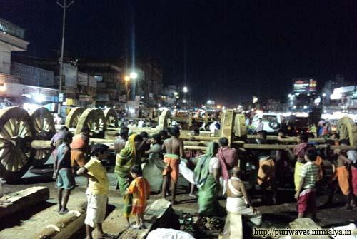 Rathyatra Construction