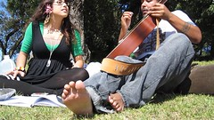 Improv (SynchronicityProductions) Tags: life california park music america canon washington san francisco peace guitar cristina august smith noel improvisation vocals 2009 crawford ulysses synchronicity cristinanoelsmith