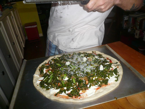 Paprika Kale Pizza