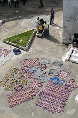 Drying Clothes in Midday Sun - Cape Coast Castle - Cape Coast - Ghana (Adam Jones, Ph.D. - Global Photo Archive) Tags: ghana capecoast capecoastcastle foreign castles slavery interior laundry cothes creativecommons20 freeimages imagebank sharealike photojournalism adamjones